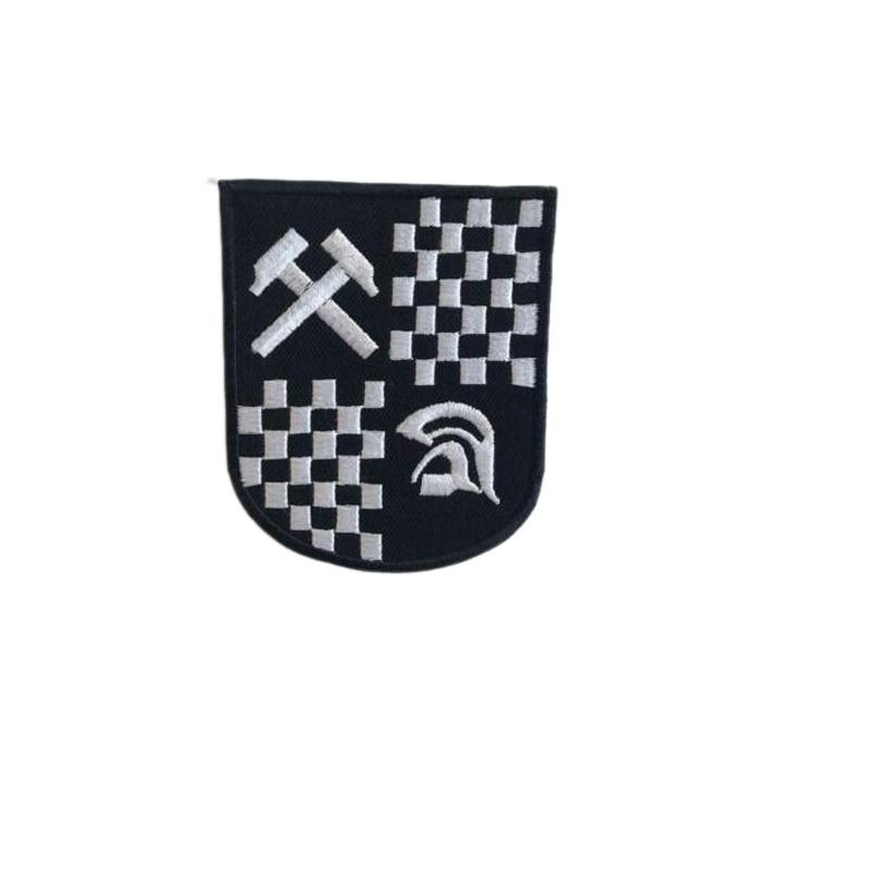 SKA Music Trojan Badge logo Iron Sew on Embroidered Patch