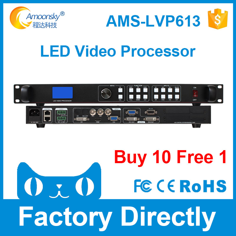 led panel p3 display LED video wall processor compare listen vp1000 hdmi video processor hd video switcher controller lvp615