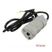 12V 24V 600L/ч Высокого Давления Dc погружной водяной насос трехпроводной микро двигатель водяной насос с адаптером селфи-Стик