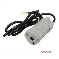 Хит продаж! 12V 24V 600L/ч Высокого Давления Dc погружной водяной насос трехпроводной микро двигатель водяной насос с адаптером селфи-Стик