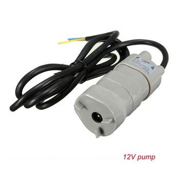 Najlepsza sprzedaż 12V 24V 600L H wysokiego ciśnienia Dc zatapialne pompa wodna trójprzewodowy mikro silnik pompy wody z adapterem tanie i dobre opinie jovtop Pompa zębata 6~24V Elektryczne Wysokie ciśnienie Niestandardowe Booster pump JT-500