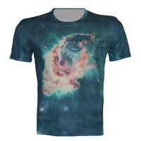 New 2017 galaxy t shirt hot kiểu áo thun hè vui quần áo unisex phụ nữ/nam giới crewneck đứng tees t-shirt clothing bán s
