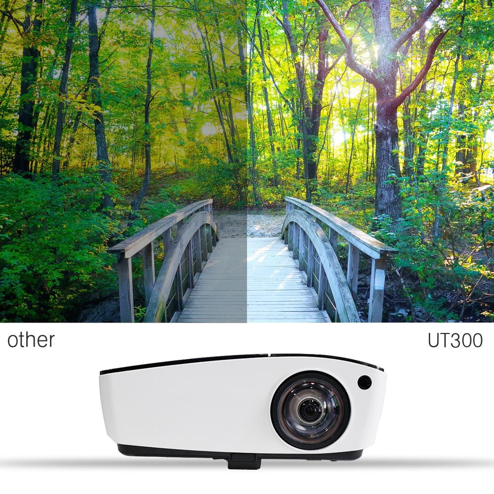 NIERBO Ultra Short Throw Projector 3D Daglicht Buiten Video 4000 ANSI - Home audio en video - Foto 4