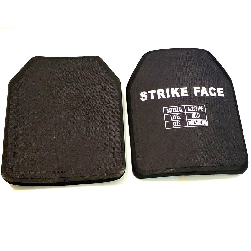 Uniontac NIJ IV Stand Alone Sape Sharp  Bulletproof Plate PE+Ceramic With Test Report Single Curve Plate AL203