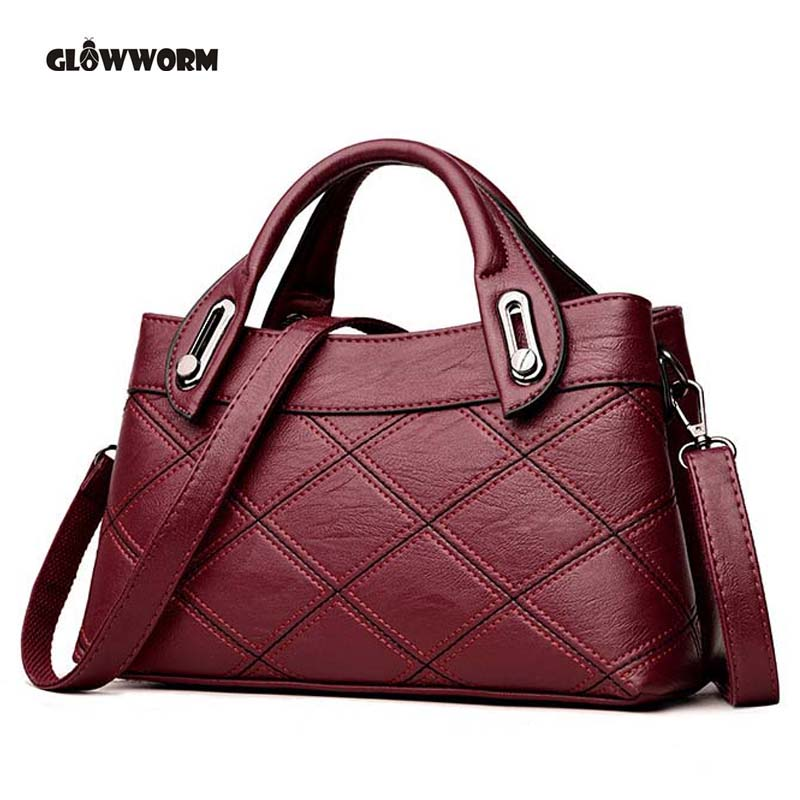 Luxury Handbags Women Bags Designer Genuine Leather Fashion Shoulder Bag Sac a Main Marque Bolsas Ladies Casual Tote Handbags kabelky brand big tote shoulder bags luxury handbags women bags designer pu leather top handle bags sac a main femme de marque