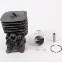 Anéis de pistão do cilindro kit pino se encaixa para husqvarna 125 128r cortador grama aparador cortador bursh peças reposição