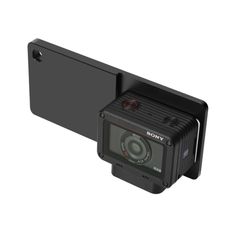 Aluminum Mount Adapter Assemble Mount Plate for DJI Osmo mobile /Zhiyun Smooth Q/Smartphone gimbal Adapter for Sony DSC-RX0