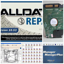 Wholesale! 2016 auto repair software Alldata 10.53+ 2015 Mitchell+ VIVID+ MANAGER all data software 25 software in 1tb hard disk