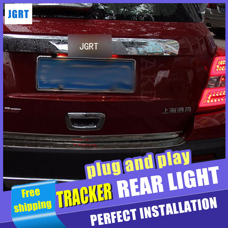 Car Styling for Chevrolet Tracker Taillights 2014 New Trax LED Tail Light GLK LED Rear Lamp DRL+Brake+Park+Signal