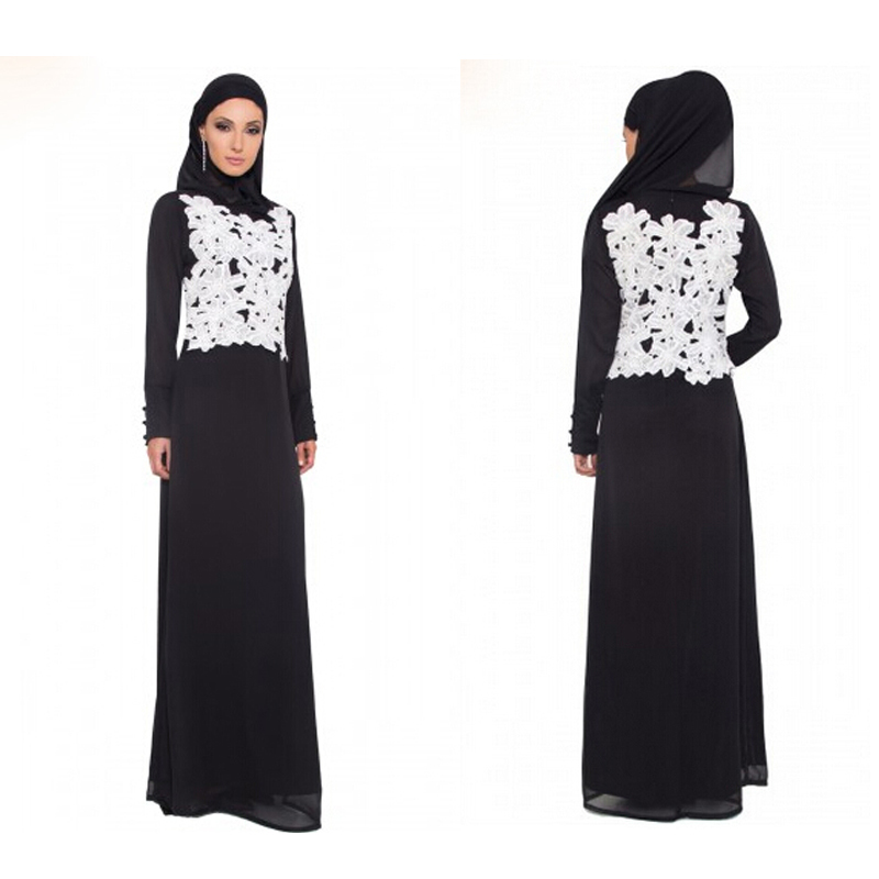 Arabic Long Evening Dress 2016 New Arrival Formal Dresses With Wrap font b Hijab b font