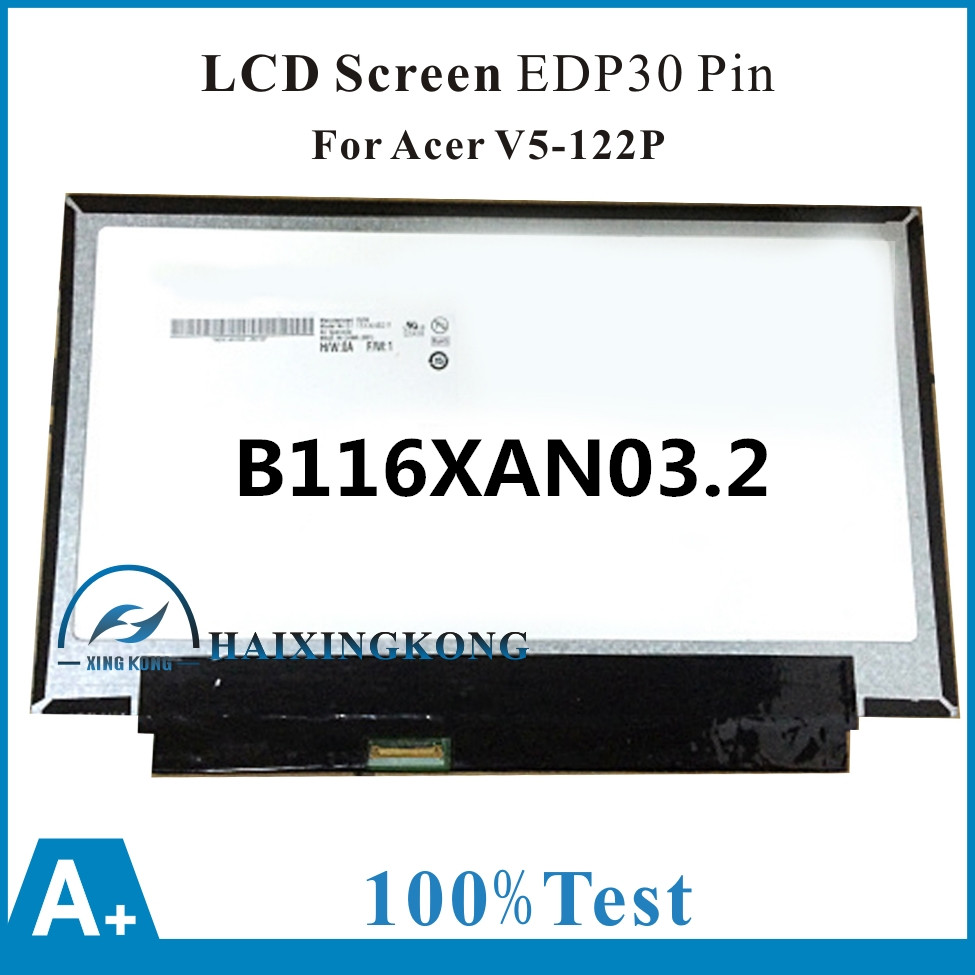11,6 для acer Aspire V5 132 V5 122P MS2377 сенсорный стеклянный объектив дигитайзер ЖК экран дисплей панель матрица B116XAN03.2 EDP30 Pin