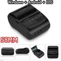 58 мм Мобильный Портативный Мини Тепловая Чековый Принтер Для Android Ос Windows IOS Bluetooth 2.0 impressora Принтер, Портативный Pos-принтеры