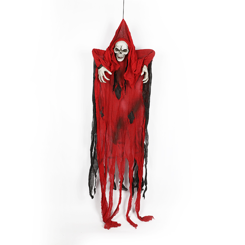 HTB1T9nqXcTxK1Rjy0Fgq6yovpXaE - 165cm Halloween Hanging Ghost Haunted House Escape Horror Halloween Decorations Terror Scary Props Theme Party Drop Ornament 1pc