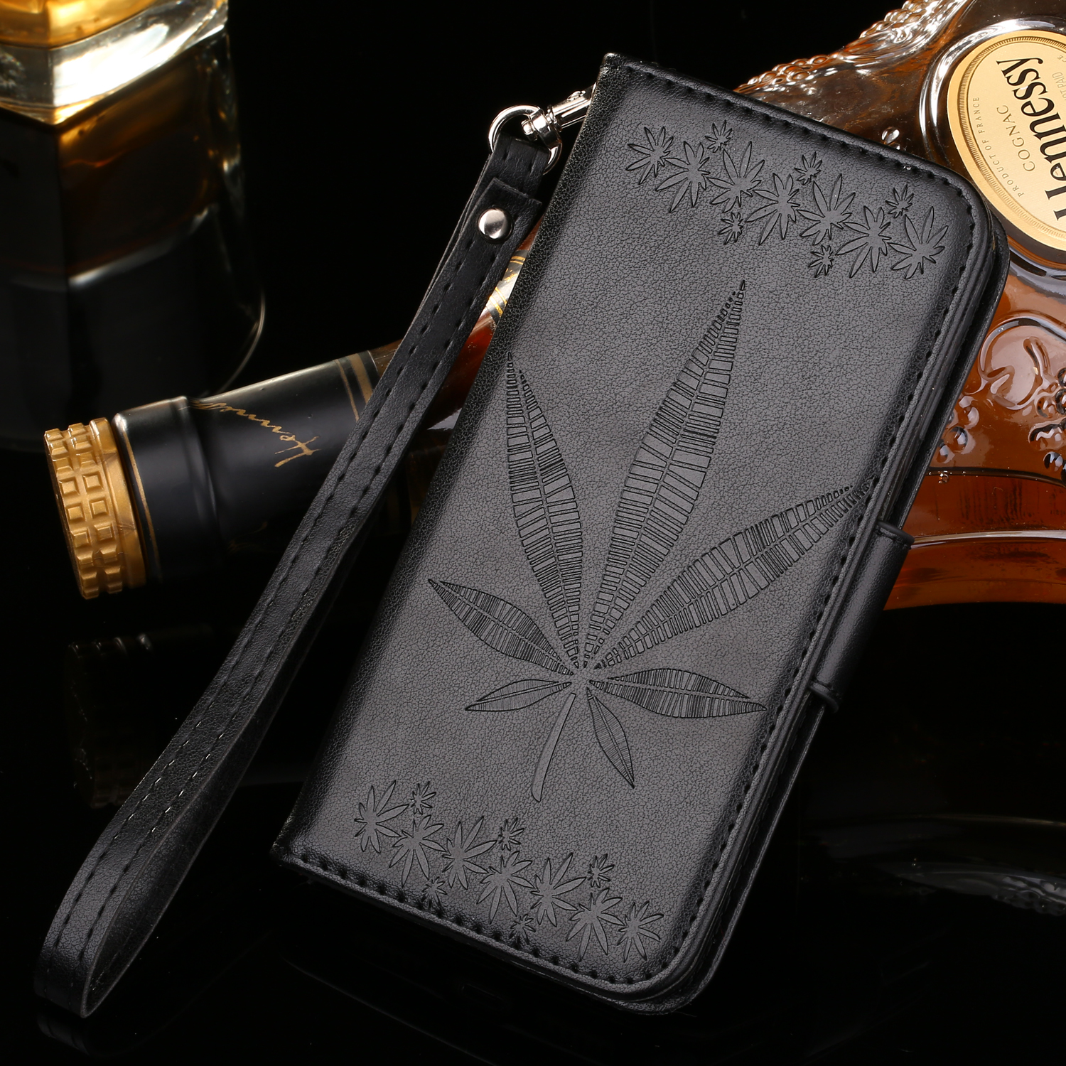 For apple iPhone 7 plus 7 6 6S Plus 5 5S SE Flip Wallet Case Cover Phone Coque Hoesjes PU Leather Holster