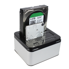 NOYOKERE Hot Selling Dual Bays SATA Hard Drive Disk Case Dock 3 5 2 5 HDD