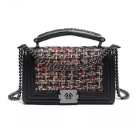 2018 Bags For Women Messenger Bags Small Shoulder Crossbody Bag Luxury Designer Handbags Mini Vintage Ladies Wool Tote Bag bolsa