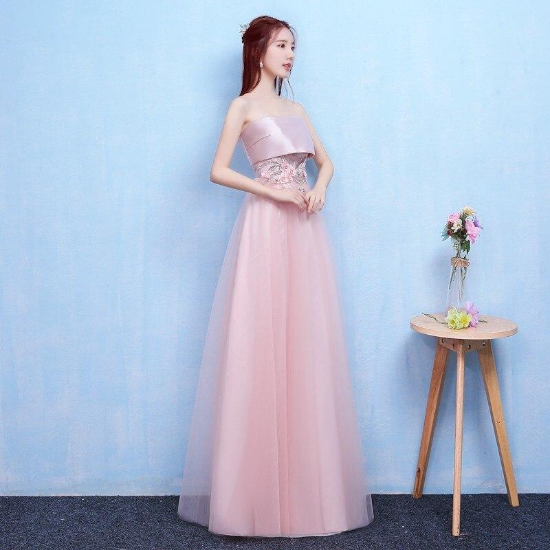 New   Bridesmaid     Dress   Wedding Long Satin   Dress   Party   Dress   Dinner   Dress   Back of Bandage