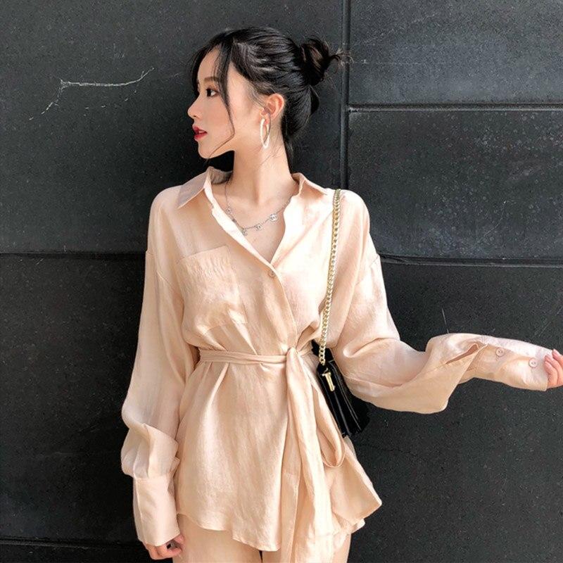 mazefeng-new-spring-women-casual-champagne-shirts-female-shirts-ribbons-irregular-shirts-ladies-shorts-style-pants-two-piece-set