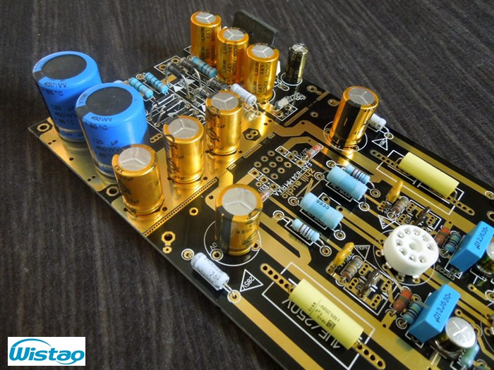 Tube MM Phono Stage Amplifier Board PCBA Ear834 Circuit Vinyl LP Amp No Including 12AX7 Tubes RIAA HIFI Audio DIY Free Shipping name machine b 108 circuit no big loop negative feedback pure post amplifier hifi fever grade high power 12 tubes