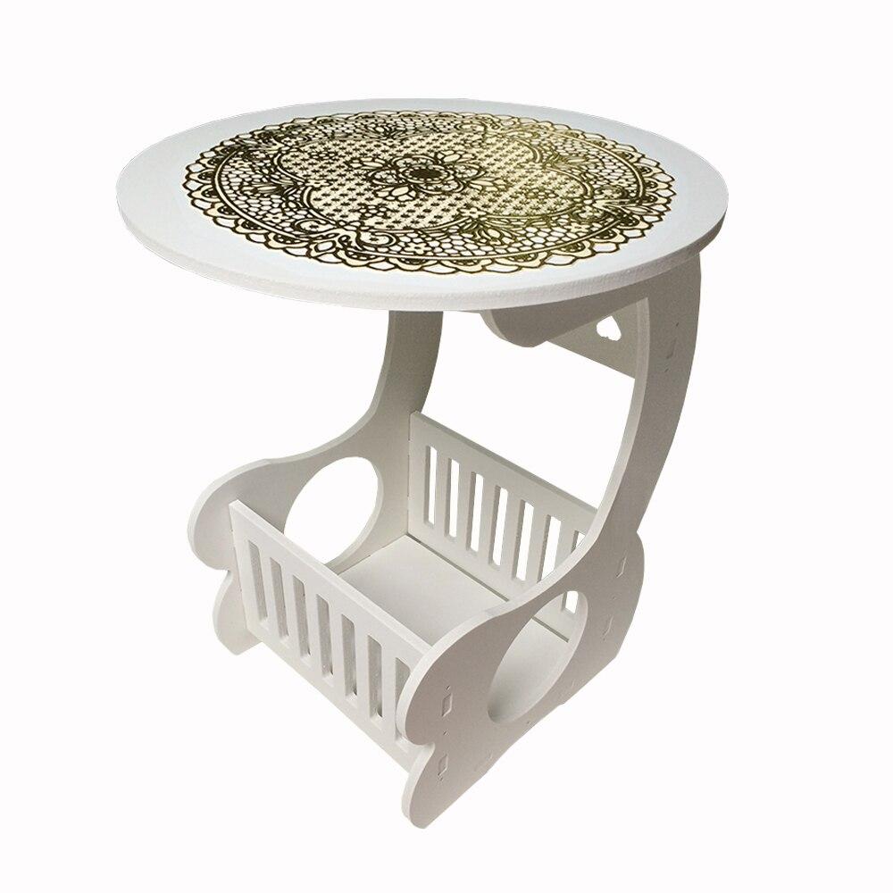 Yazi estilo europeo madera plástico mesa de café balcón ocio ...