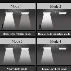 Image 4 - Năng Lượng Mặt Trời Cảm Biến Ánh Sáng Bằng Chuyển Động Radar An Ninh 48 LED Nổi Bật Vườn Chống Thấm Nước Năng Lượng Mặt Trời Đèn Ngoài Trời Nhôm Đường Lampada