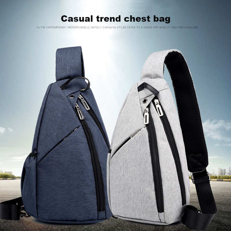 Adults Universal Adjustable Portable Sling Chest Backpack Bag Outdoor Sports Camping Cycling Hiking Crossbody Rucksack Equipment Products Hot Sale