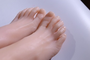 Superior quality products in line foot fetish, False for seeing Toys, fetish, realistic female feet, silicone foot model