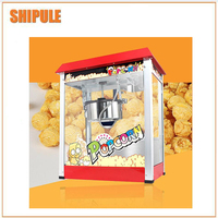 Mini máquina comercial para hacer palomitas de caramelo