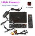 Francês árabe IPTV Box Linux TV Box ip-s2plus/ip-s2 + Com 1000 + Canais de TV ao vivo Iptv Canal + Tunísia Francês Africano Set Top caixa