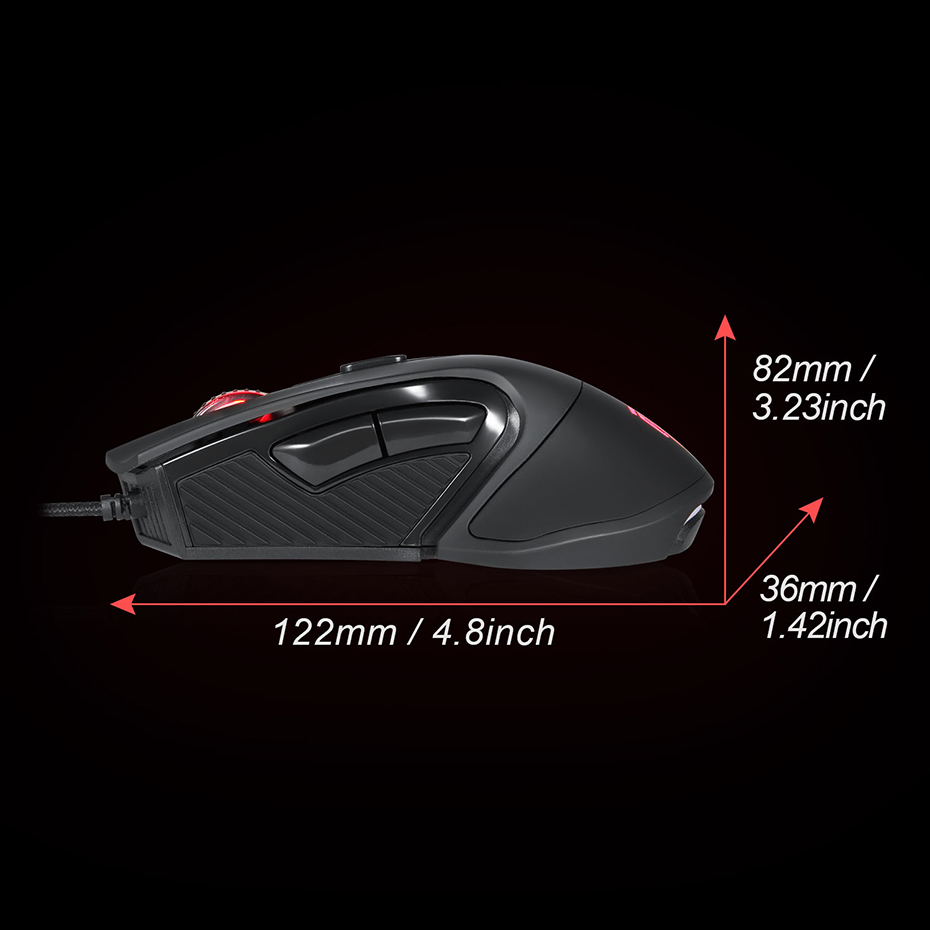 Easysmx Gm 787 Gaming Mouse Wired Usb Optical Gamer Computer Wiring Diagram Rgb 5000dpi Bloody Mause For Pc Laptop Notebook In Mice From