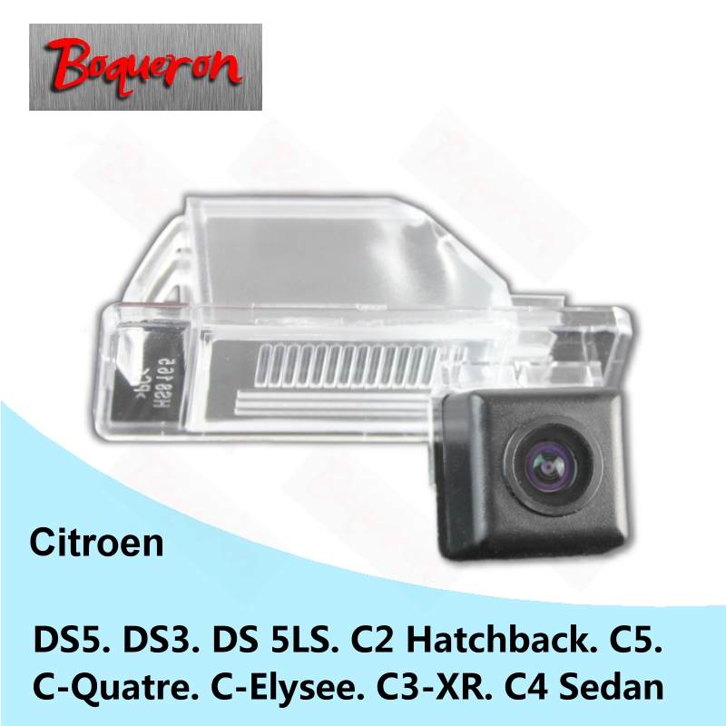 for Citroen DS5 DS3 DS 5LS C2 C5 C-Quatre C-Elysee C3-XR C4 Sedan SONY CCD Car Camera Re ...