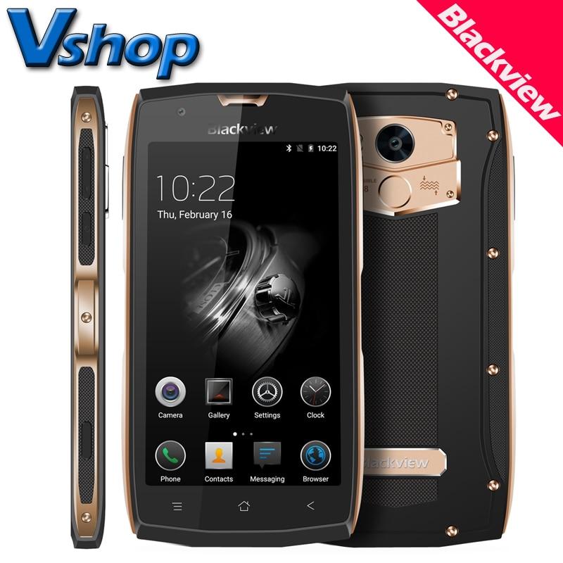 Original Blackview BV7000 Pro BV7000 4G LTE Mobile Phones Android Smartphone IP68 Waterproof 1080P 5 0