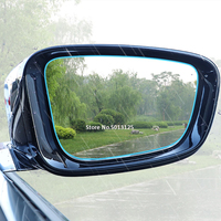 waterproof rain Rearview Mirror Protective Film Anti Rain Fog Waterproof Rainproof Film For Mercedes Benz W176 W117 W212 W204 C63 CLA GLA AMG (5)