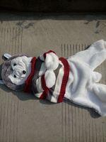 55cm Husky Dog Skin Plush Toys Teddy Bears Hull Large Animal Coat Factory Wholesale