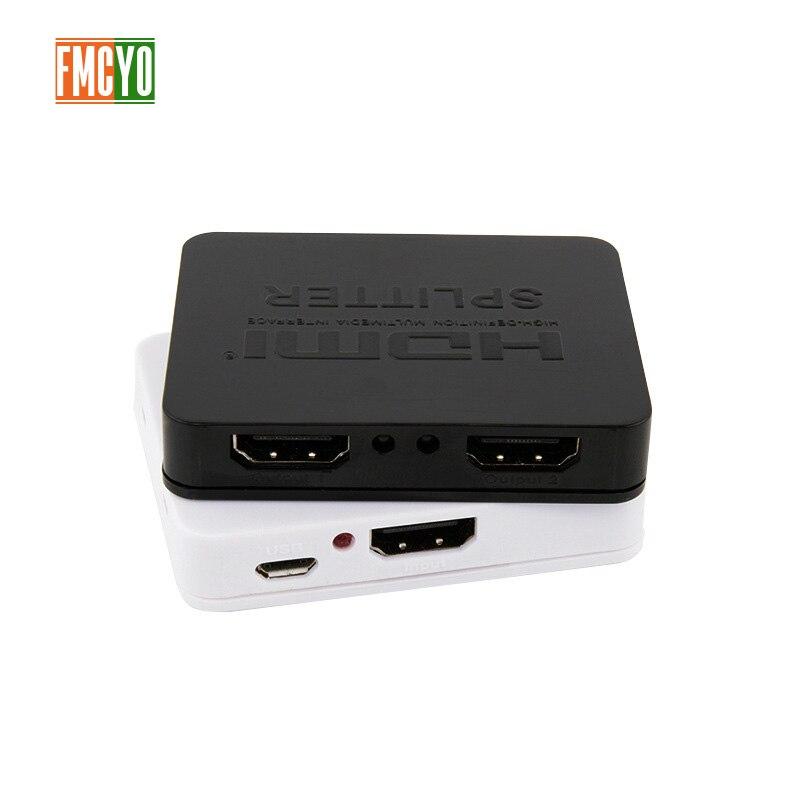 HDMI Splitter KVM Switcher 2x1 1x2 Mini HDMI Port 2 Input 1 Output 4K Resolution Bi Directional HDMI Switch Matrix