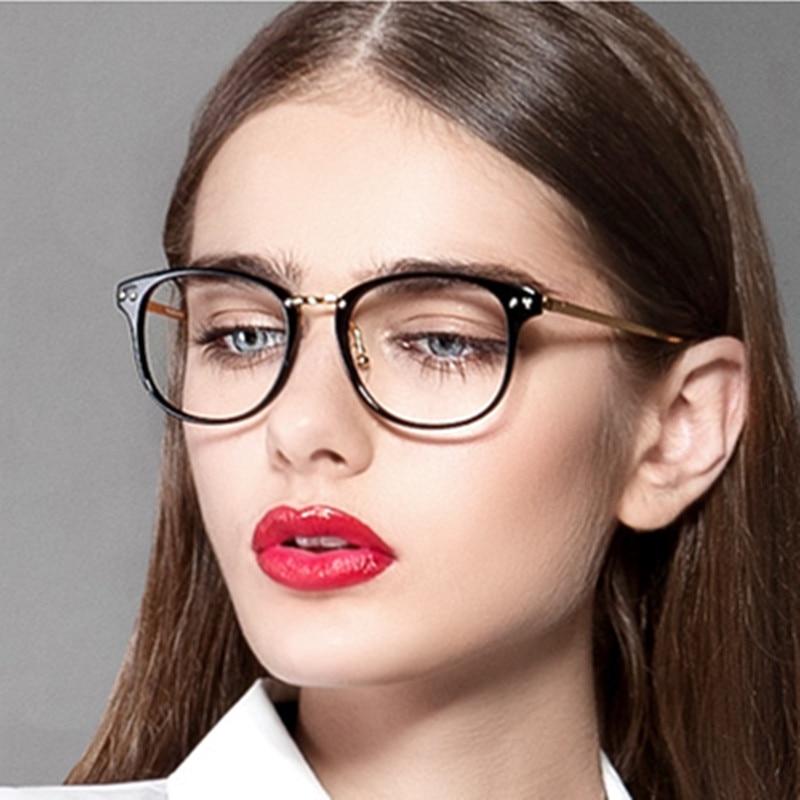 ladies glasses frames vcdv  Eyeglasses 2016 Brand Design New Vintage Eye Glasses For Women Fashion  Metal Optical Myopia Eyewear Frames Women Oculos De Grau