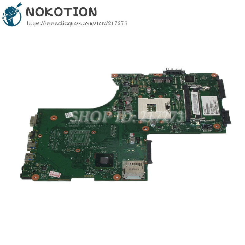 NOKOTION 6050A2492401-MB-A02 V000288120 1310A2492446 Laptop motherboard For toshiba satellite P870 P875 MainBoard SLJ8E DDR3 nokotion sps v000198120 for toshiba satellite a500 a505 motherboard intel gm45 ddr2 6050a2323101 mb a01