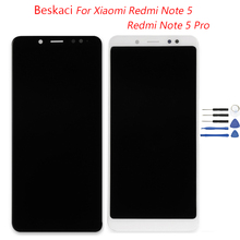 Beskaci For Xiaomi Redmi Notice 5 Professional LCD Display screen Body Contact Panel Show Meeting Redmi Notice 5/Notice 5 Professional Show Display screen