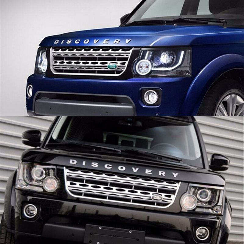 metal 3d discovery letters hood emblem silver chrome black golden logo sticker car words emblem for land rover free shipping on aliexpresscom alibaba