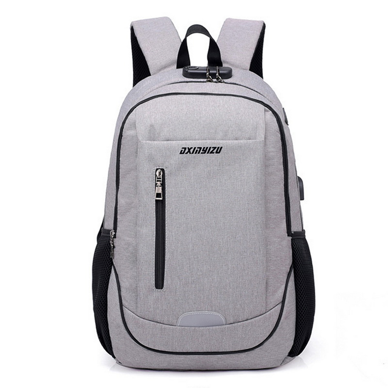 Men Backpacks External Usb Charging Travel School Shoulder Bag College Student Casual Bag Large Capacity Backpack Women