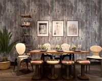 Beibehang Pure Color Mottled Retro Old Wallpaper Gray American Style Living Room Bedroom High Profile Thick