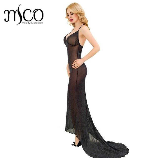 Romance Nuit Sexy De Femme Chemise 2017 Babydoll Long Vêtements Noir q6fApWvw