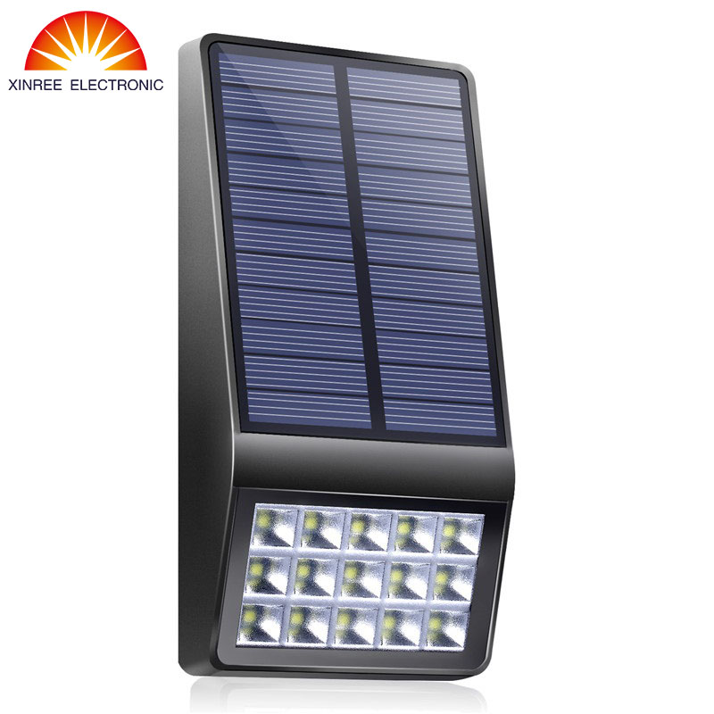Xinree Garden Solar Light Luz Solar Led Para Exterior Solar LED Light Outdoor Waterproof Wall Lamp Lampe Solaire Solar Lamp NEW newest style led solar wall light solar lamp outdoor solar garden decorative lamp