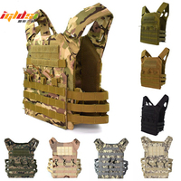 600D Hunting Lightweight Tactical Vest Military Molle Plate Carrier Magazine Airsoft Paintball CS Outdoor Protective Vest