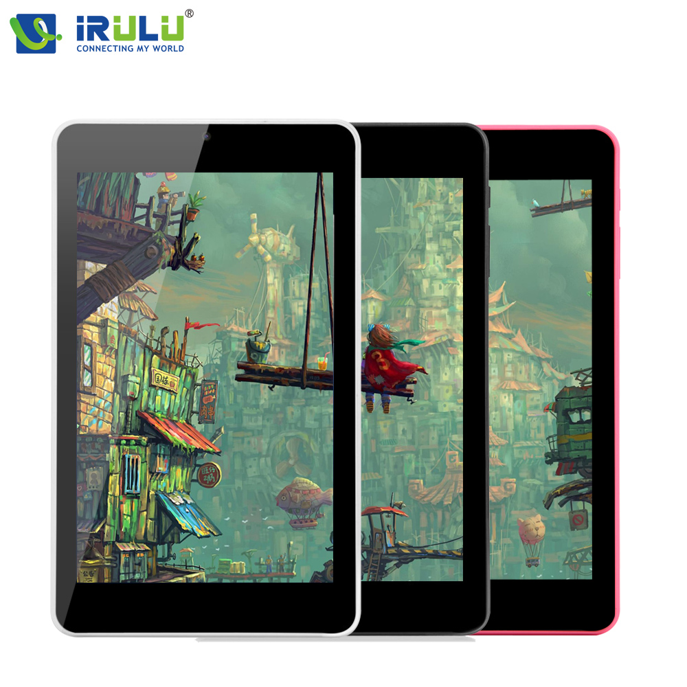 Original iRULU eXpro X4 7'' IPS 1280*800 Tablet PC Quad Core Android 5.1 Tablet 1GB 16GB Dual Cam Bluetooth Wifi 4000mAh 2016
