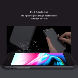 NILLKIN Case for iphone 8 Case iphone 8 plus case Super Frosted Shield Hard Plastic Back Cover with Screen Protector 3