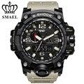 Smael esportes dos homens relógios de luxo da marca led relógio digital moda relógio ocasional relogio militar masculino relógio analógico-digital ws1545