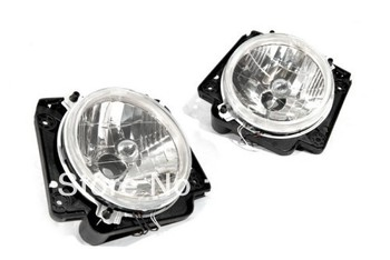 Clear Lens Front Angel Eye Headlight (Euro Specification) For VW Volkswagen Golf MK2