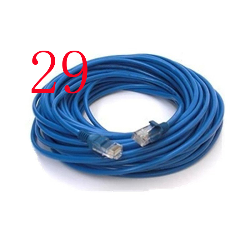 Blau 20 mt Katze 5 Netzwerk LAN Kabel UTP Internet Ethernet Kabel Patch Stecker Cord Werkzeuge Für PC Computer Laptop