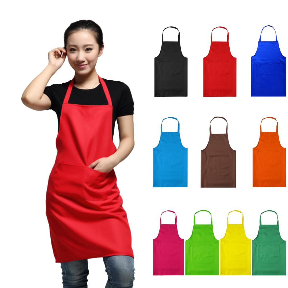 WITUSE 2018 NYHET HOT Fashion Lady Women Förkläde Hem House Kitchen Förkläde Chef Butcher Restaurant Cooking Baking Dress Women Apron